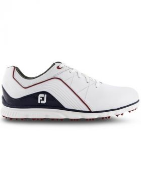 Footjoy 2019 Pro/SL Golf Shoes - White/Navy/Red