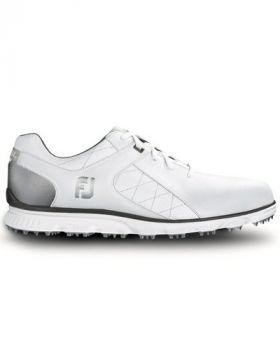 Footjoy Pro SL Golf Shoes - White/Silver