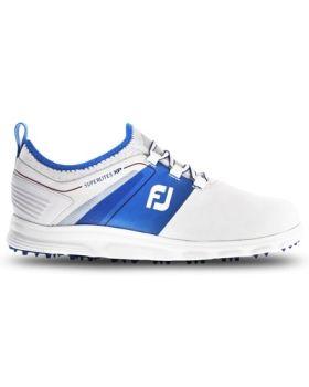 FootJoy Superlite XP Golf Shoes - White/Blue