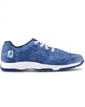 Footjoy Women's Leisure Golf Shoes - Egyptian Blue Snake Print