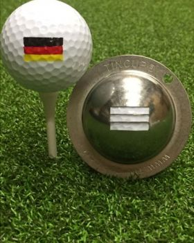 TIN CUP - GERMANY FLAG