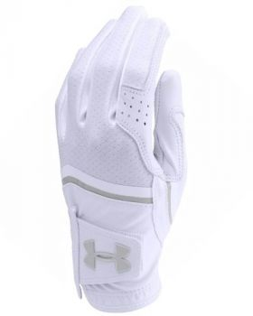 Under Armour Women's Coolswitch Glove Right Hand - White/Grey (For the Left Handed Golfer)