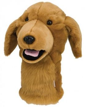 DAPHNE'S HEADCOVER FITSALL - GOLDEN RETRIEVER