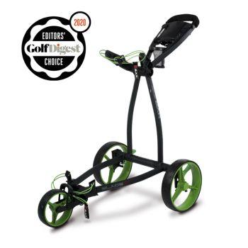 Big Max Blade IP Push Cart Trolley - Phantom/Lime