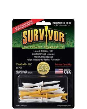 Greenkeepers Survivor Golf Tees 12 Pack 2 3/4 Inch