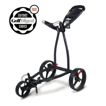 Big Max Blade IP Push Cart Trolley - Phantom/Black