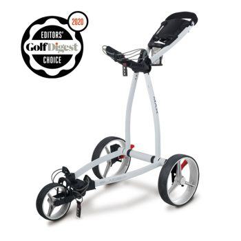 Big Max Blade IP Push Cart Trolley - White