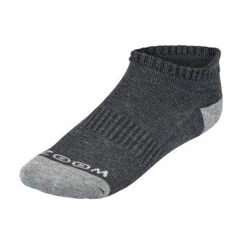 Zoom Ladies Ankle Low Cut Socks (3pairs) - Charcoal/Grey