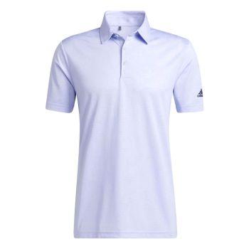 Adidas Men's Camo Golf Polo - Violet Tone/White
