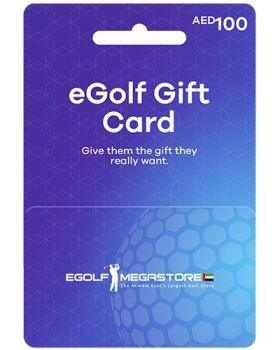 eGOLF MEGASTORE 100 AED GIFT CARD