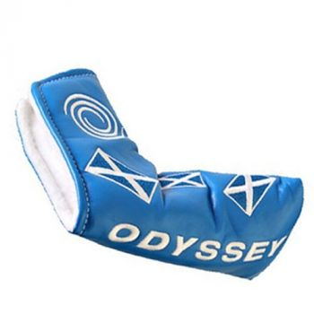 ODYSSEY SCOTLAND BLADE PUTTER HEADCOVER - BLUE