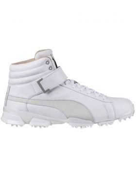 Puma Titan tour Ignite Hi-Top Golf Shoes - White