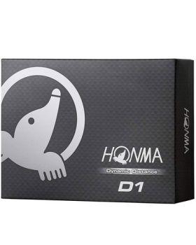 HONMA D1 Dynamic Distance Golf Balls - White