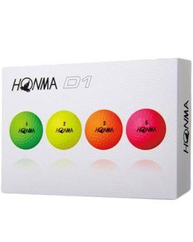 HONMA D1 Golf Balls - Multi-Color