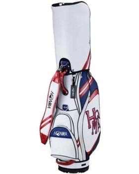Honma CB-12015 Dancing Sport Caddy Bag - White/Red
