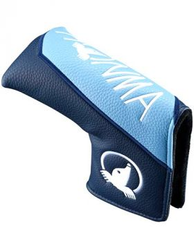 Honma 20PRO BLADE PUTTER HEADCOVER - Sax/Navy