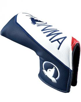 Honma 20PRO BLADE PUTTER HEADCOVER - Red/Navy