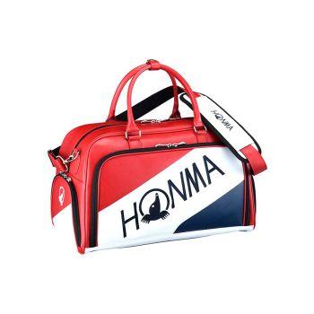 Honma Boston Bag BB-12001 Red/Navy