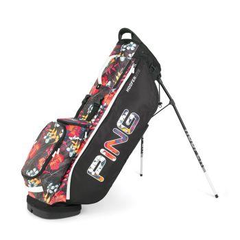 Ping Hoofer Lite Stand Bag - Black/Tropic/White