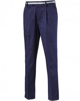 Puma Tailored Single Pleat Golf Pants - Peacoat