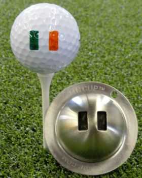 TIN CUP - IRELAND FLAG