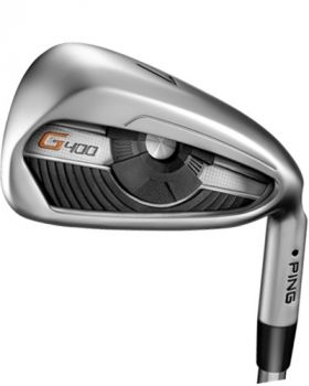 Ping G400 4-Pw Iron Set With Alta Cb Regular Flex Graphite Shaft