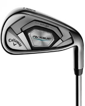 Callaway Rogue 4-PW Iron Set with Stiff Flex Graphite Shaft