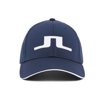 J.Lindeberg Men's Bryan Golf Cap - Navy - FW21