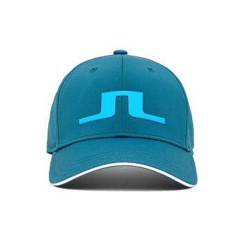 J.Lindeberg Men's Bryan Golf Cap - Majolica Blue - FW21