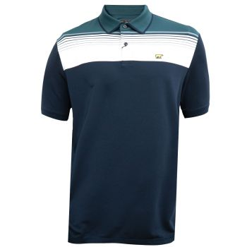 Jack Nicklaus Stacked Energy Polo - Classic Navy