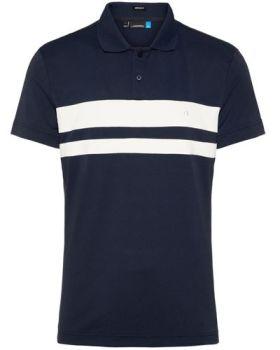 J.Lindeberg M Craig Tx Torque Polo Shirt - Navy