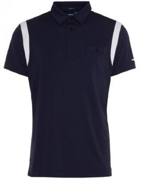 J.Lindeberg M Dolph Reg Fit TX Jersey Polo Shirt - Blue/Navy