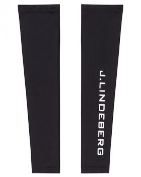 J. Lindeberg ENZO COMPRESSION SLEEVES - Black