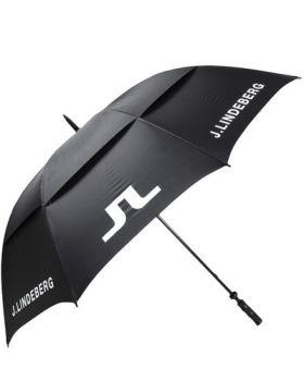 J.Lindeberg Canopy Nylon Umbrella - Black