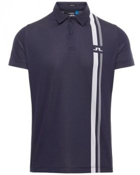 J.Lindeberg Anton Regular Fit Polo - Blue/Navy