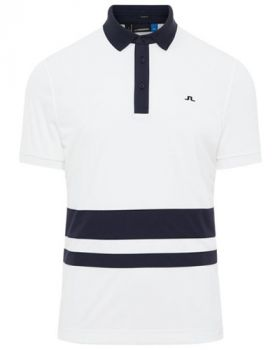 J.Lindeberg Lucas Slim Fit Polo Shirt - White