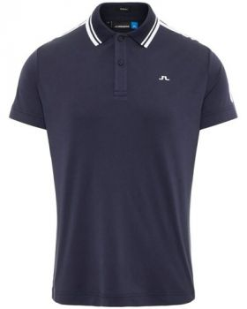 J.Lindeberg Ted Slim Fit Polo Shirt - Navy