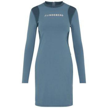 J.Lindeberg Women's Zola Golf Dress - Captains Blue - FW21