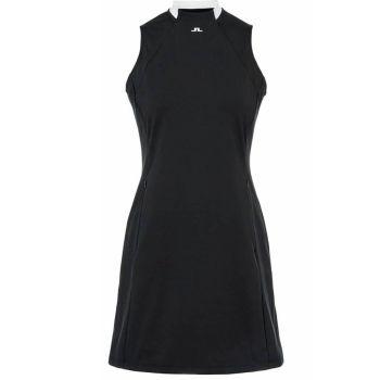 J.Lindeberg Women's Nena Golf Dress - Black - FW21