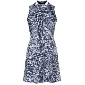 J.Lindeberg Women's Nena Golf Dress - Navy Croco - FW21