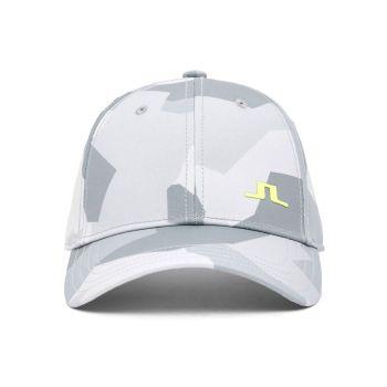 J.Lindeberg Camou Print Golf Cap - Grey Camo - FW21