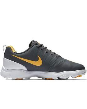 Nike Junior Control Golf Shoes - Dark Grey/Laser Orange