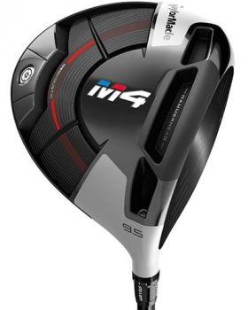 TaylorMade M4 10.5* Driver with Speeder EVO Shaft - Left Hand
