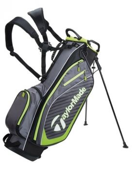 TaylorMade Pro Stand 6.0 Bag - Charcoal/ Black/ Green
