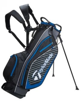 TaylorMade Pro Stand 6.0 Bag - Black/ Charcoal/ Blue