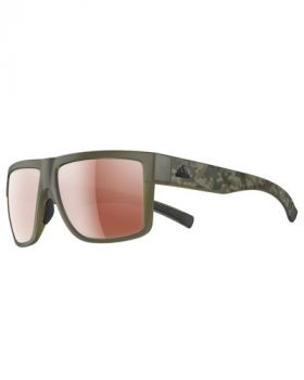 ADIDAS 3MATIC SUNGLASSES - CLAY CAMO FRAME LST ACTIVE SILVER LENS