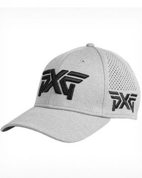 PXG Laser Mesh Shadow Tech Fitted Cap - Gray