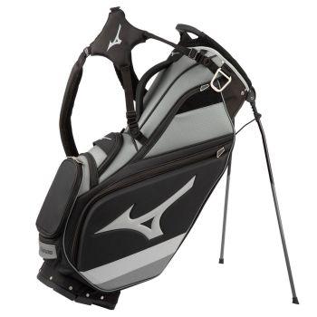 Mizuno 2021 Tour 6-Way Stand Bag - Black/Charcoal