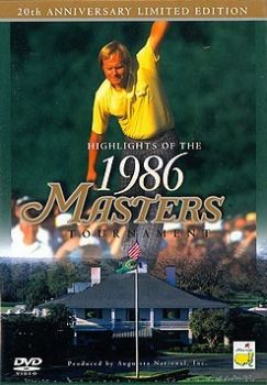 Highlights of the 1986 Augusta Masters Tournament - Jack Nicklaus [DVD]