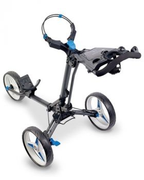 Motocaddy P1 Push Trolley - Graphite/Blue